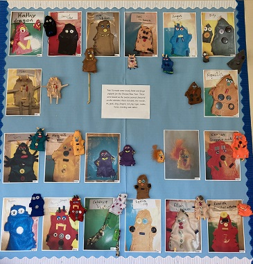 Year 1- Hand and Finger Puppets