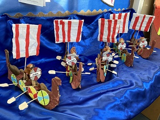 Year 4 and 5 Intervention-  Viking Long Boats