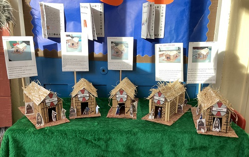 Year 4 and 5 Intervention-  Viking Long Houses