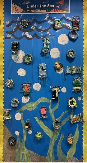 Year 2- Under the Sea  Weaving and Felting